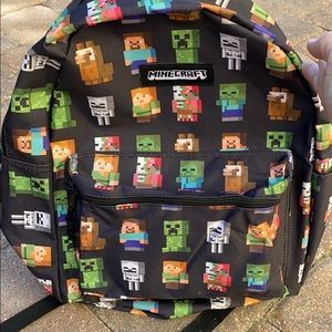 Kid's Minecraft backpack